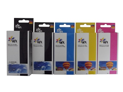 Set of 10 Compatible Canon PGI650XL/CLI651XL ink cartridges (2BK/2bk/2c/2m/2y)