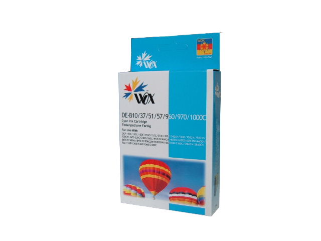 Compatible Brother LC37C (Cyan) ink cartridge