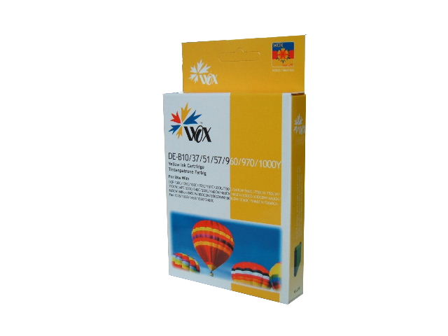 Compatible Brother LC37Y (Yellow) ink cartridge