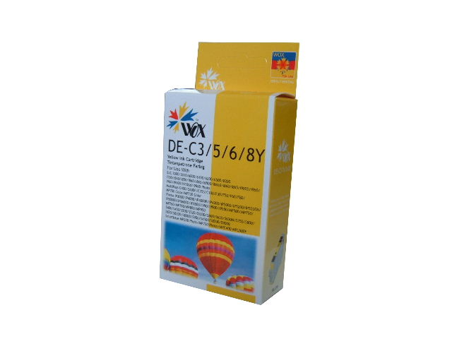 Compatible Canon BCI-3eY (Yellow) ink cartridge