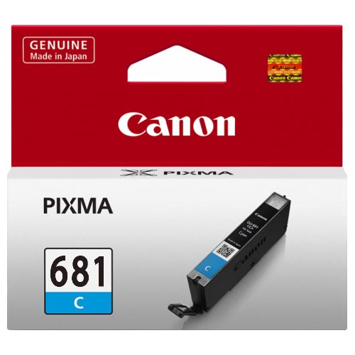 Genuine Canon CLI681 Cyan Ink Cartridge
