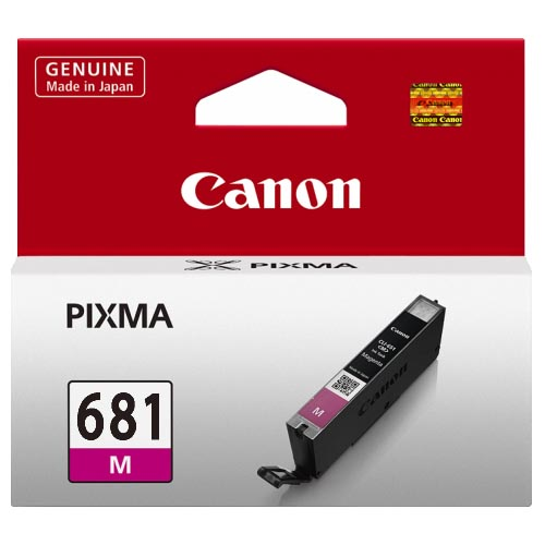 Genuine Canon CLI681 Magenta Ink Cartridge