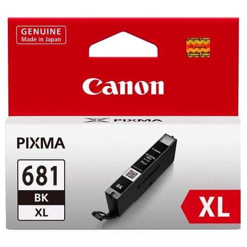 Genuine Canon CLI681XL Black Ink Cartridge