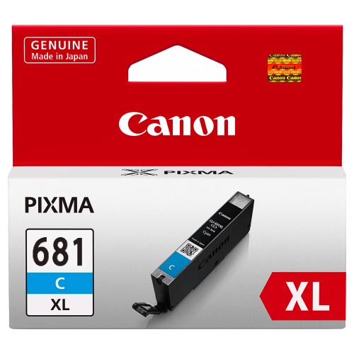 Genuine Canon CLI681XL Cyan Ink Cartridge