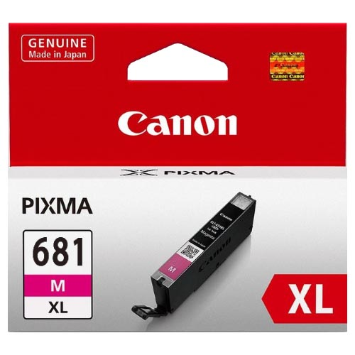 Genuine Canon CLI681XL Magenta Ink Cartridge