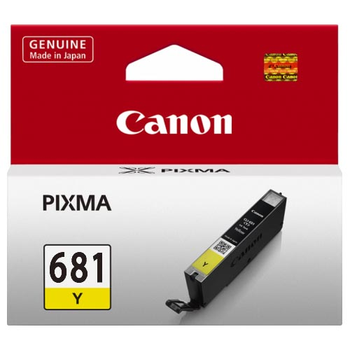 Genuine Canon CLI681 Yellow Ink Cartridge