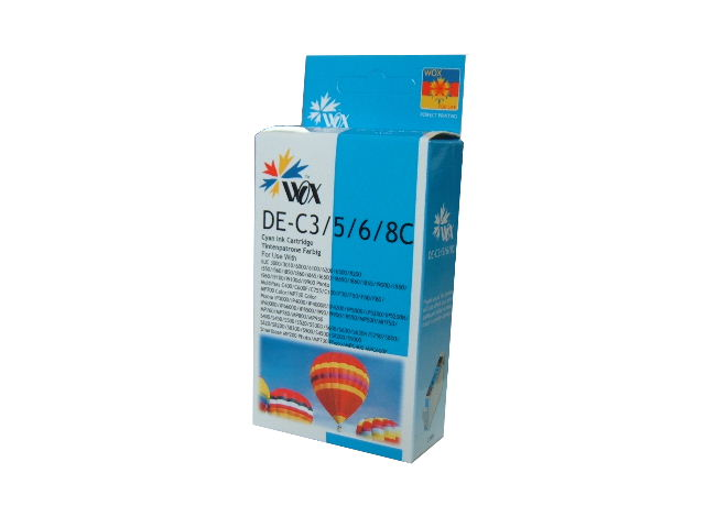 Compatible Canon BCI-3eC (Cyan) ink cartridge