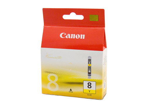 Genuine Canon CLI-8Y (Yellow) ink cartridge