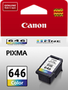 Genuine Canon CL646 Colour ink cartridge