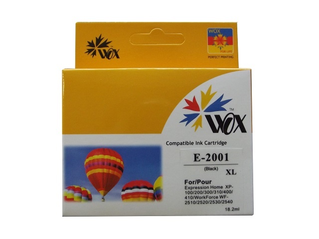 Compatible Epson 200XL Black high-capacity ink cartridge