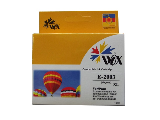 Compatible Epson 200XL Magenta high-capacity ink cartridge