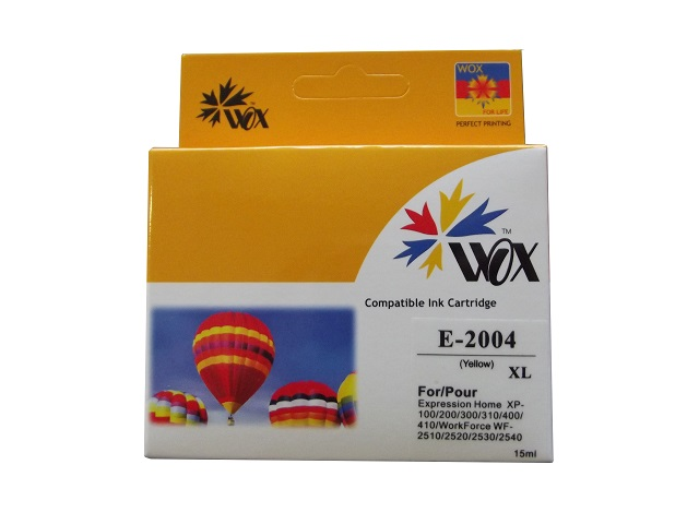 Compatible Epson 200XL Yellow high-capacity ink cartridge