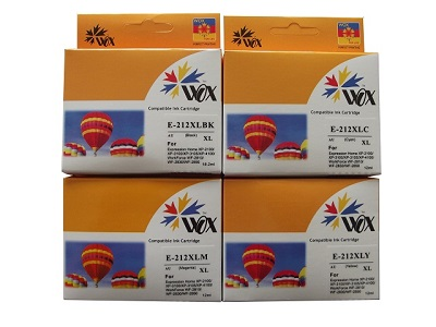 Compatible Epson 212XL Ink Cartridges 4 Pack (1BK/1C/1M/1Y)