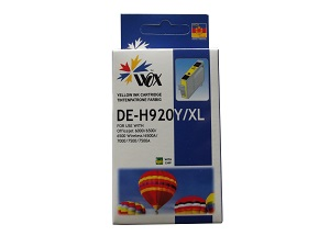 Compatible HP 920XL (Yellow) High Capacity ink cartridge