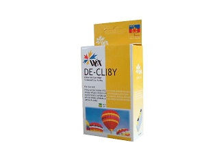 Compatible Canon CLI8Y (Yellow) ink cartridge