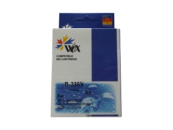 Compatible Brother LC235XLY (Yellow) ink cartridge
