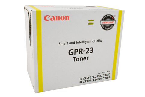Genuine Canon TG35 GPR23 Yellow toner cartridge