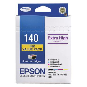 Genuine Epson 140 Ink Value Pack