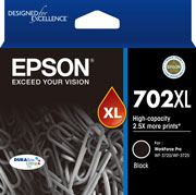 Genuine Epson 702XL Black Ink Cartridge