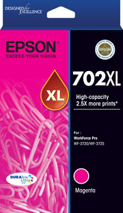 Genuine Epson 702XL Magenta Ink Cartridge