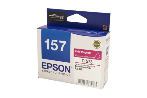 Genuine Epson 157 Magenta ink cartridge