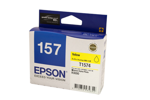 Genuine Epson 157 Yellow ink cartridge