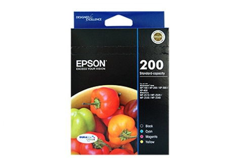 Genuine Epson 200 Ink cartridge Value Pack