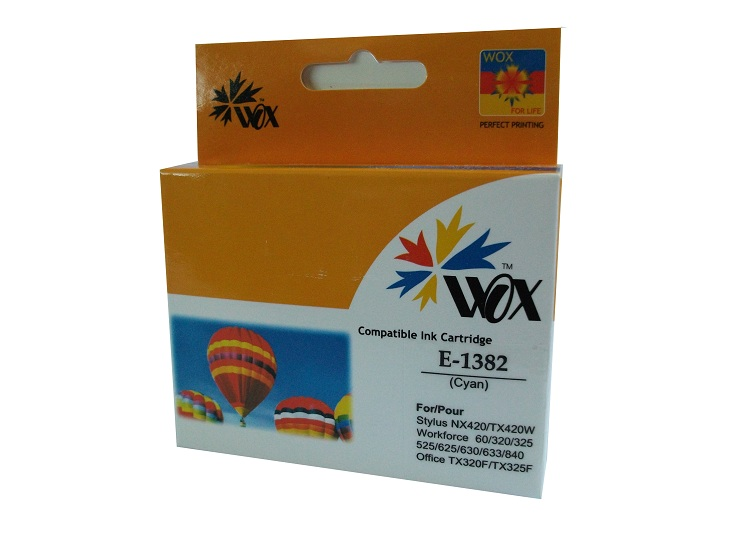 Compatible Epson 138 Cyan High Capacity ink cartridge