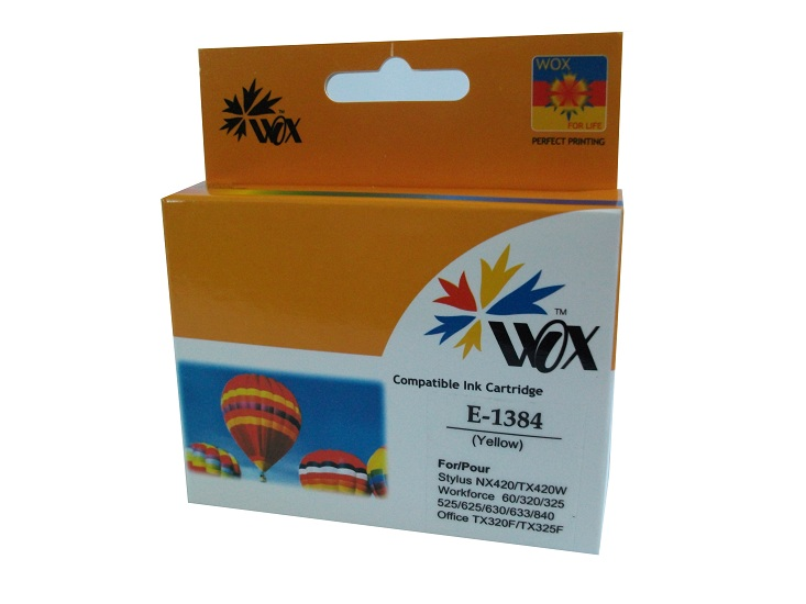 Compatible Epson 138 Yellow High Capacity ink cartridge