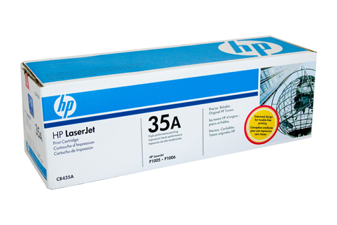 Genuine HP35A Black toner cartridge