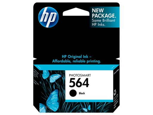 Genuine HP564 Black ink cartridge (CB316WA)