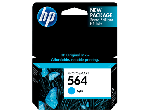 Genuine HP564 Cyan ink cartridge (CB318WA)