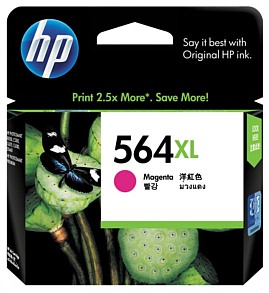 Genuine HP564XL Magenta High Capacity ink cartridge (CB324WA)