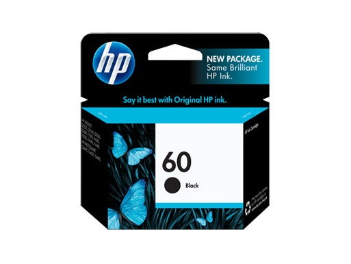 Genuine HP60 Black ink cartridge (CC640WA)