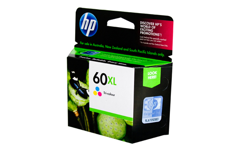 Genuine HP60XL Colour ink cartridge (CC644WA)