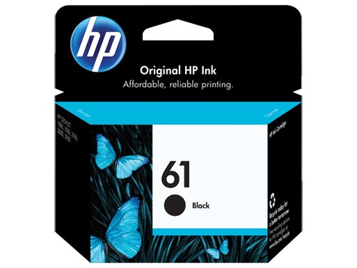 Genuine HP 61 Black ink cartridge (CH561WA)