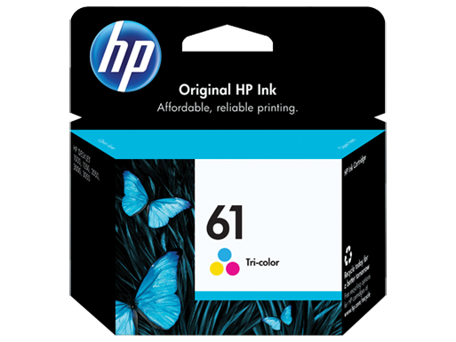Genuine HP 61 Colour ink cartridge (CH562WA)