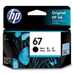 Genuine HP 67 Black Ink Cartridge