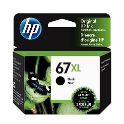 Genuine HP 67XL Black Ink Cartridge