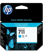 Genuine HP 711 Cyan Ink Cartridge (CZ130A)