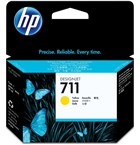 Genuine HP 711 Yellow Ink Cartridge (CZ132A)