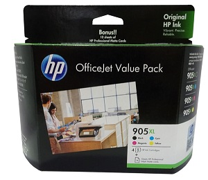 Genuine HP905XL Office Value Pack