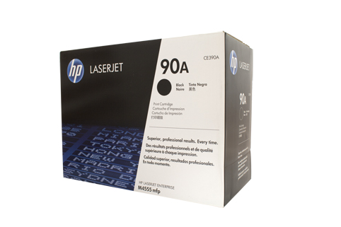 Genuine HP90A Black toner cartridge (CE390A)