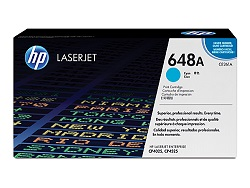 Genuine HP CE261A Cyan toner cartridge (648A)