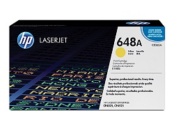 Genuine HP CE262A Yellow toner cartridge (648A)
