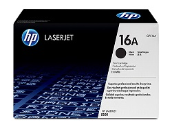 Genuine HP16A Black toner cartridge