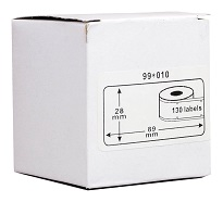 Compatible Dymo LW D99010 Labels -Twin pack
