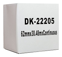 Compatible Brother DK22205 Continuous Length Paper Label Tape