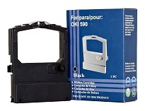 Compatible Oki 590, 591, 520, 521 Black Ribbon
