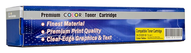 Compatible Oki C310/C330/C510/C530 Yellow Toner